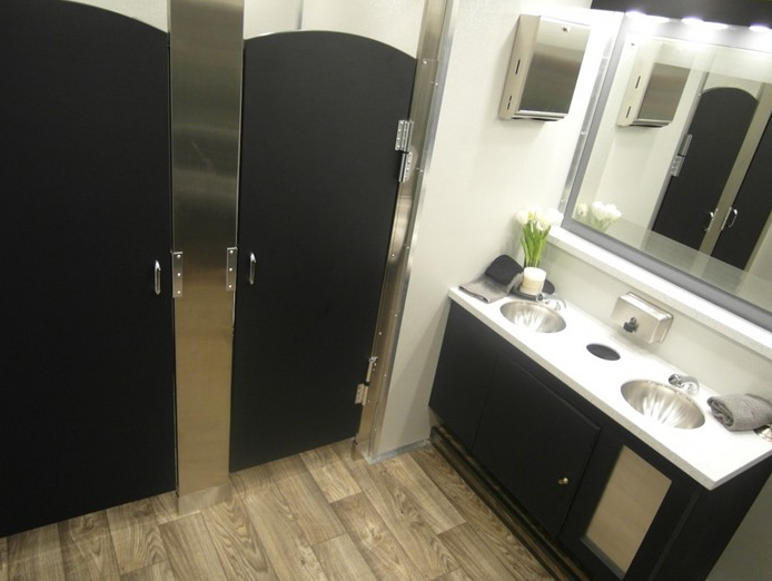 Bathroom Rentals portable bathroom trailers, office trailers, conex and shipping