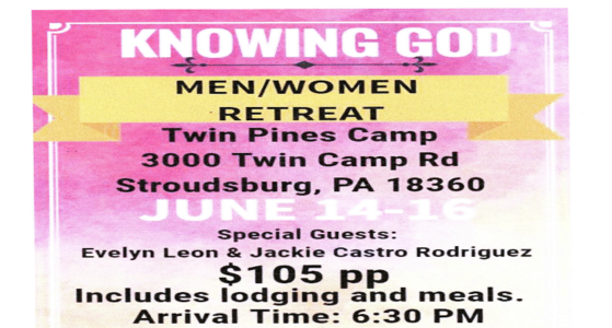 Knowing God Retreat