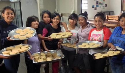 Culinary arts and cooking classes in orphanage in Guatemala