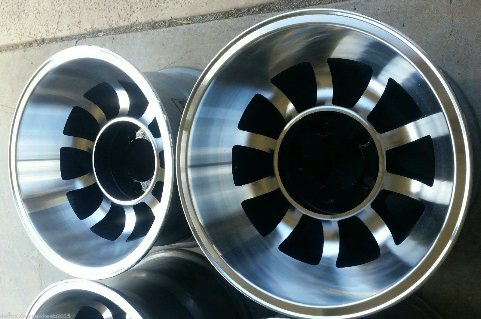 Detroit Vintage Wheels Acutal Vintage Wheels Custom Restored & Made ...