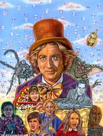 SPFX MAGAZINE COVER - Willy Wonka and the Chocolate Factory by CLIFF CARSON
