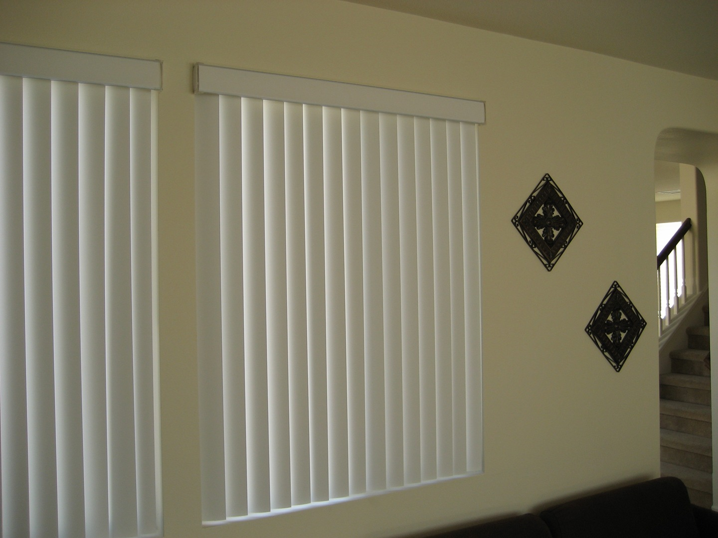 Blinds for curved windows - Read