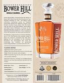 Bower HIll Single Barrel sell sheet