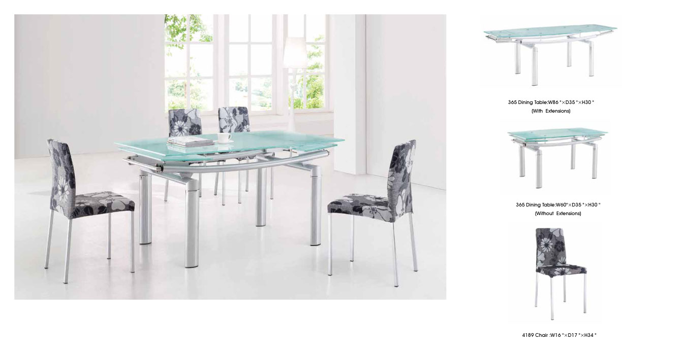 Contemporary Dining Sets By Creative Elegance