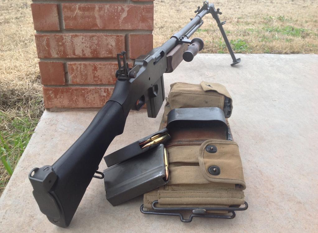 Wwii M1918a2 Usgi Browning Automatic Rifle Bar