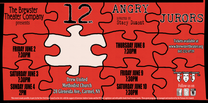 Audition for 12 Angry Jurors