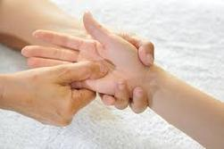 reflexology of the hand
