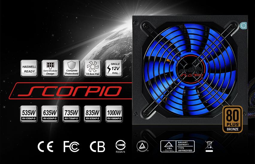 Scorpio RX-835AP-S