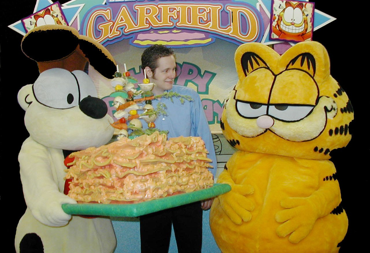 Happy Birthday Garfield