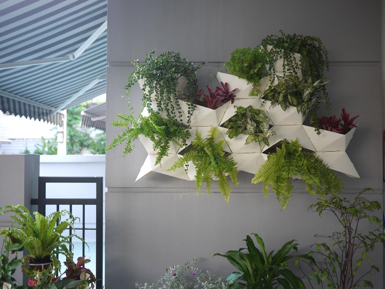 home diy living wall - (wall planter
