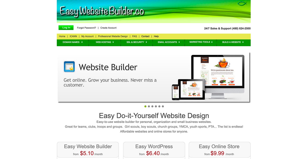 Easy website builder diy website design cheap websites solutioingenieria Images