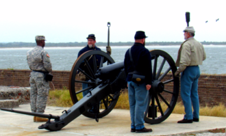 Fort Clinch offers trails and campsites in Fernandina Beach, Florida.