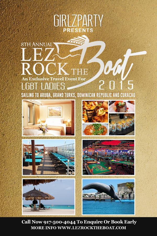 Lez Rock Halloween Cruise 2015