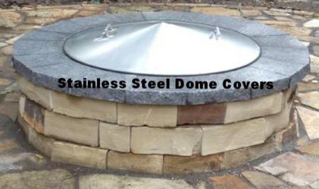 Custom Fire Pit Covers-spark Screens - Stainless Steel ...