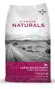 Diamond Natural Large Breed Puppy with Lamb & Rice