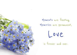 Grief Diaries personalized greeting card 04