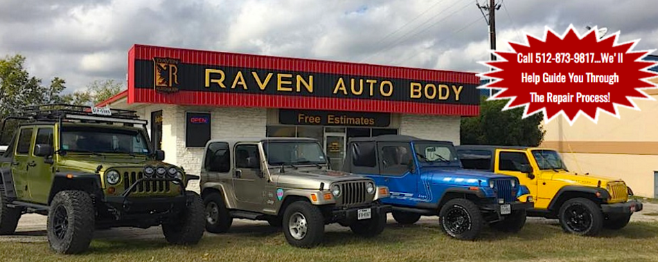 Auto Body Shop | Austin, TX | Raven Auto Body • 1804 S. Interstate ...
