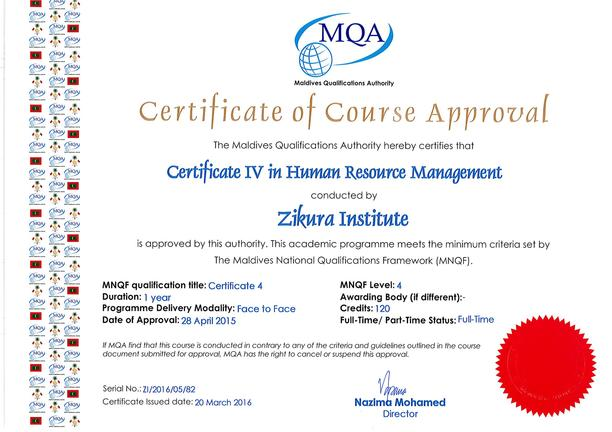 Advance Certificate in Human Resource Management – Zikura ...