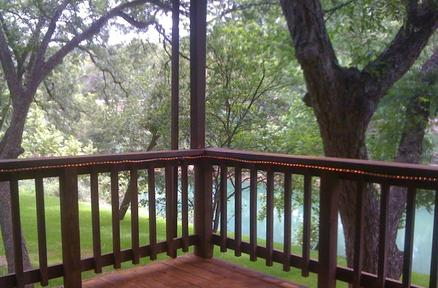 Lodging fishing tubing little ponderosa river retreat for Cabins near whitewater amphitheater