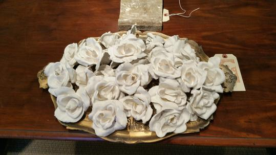 Plaster of Paris Roses new artist Jamey Alexander