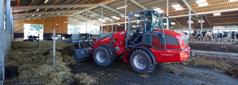 Weidemann 4080T Tele Wheel Loader