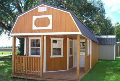Delux Lofted Barn Cabin - 12x24, You can order bigger sizes and customize your shed