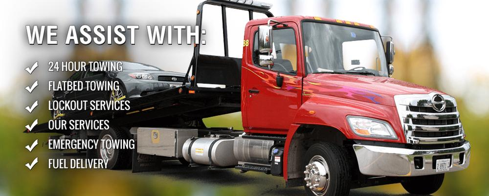 Quick Roadside Assistance Roadside Auto Repair Towing near Fremont NE 68025-68026 | 724 Towing Services Omaha