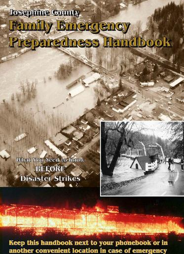 Josephine County's Family Emergency Preparedness Handbook