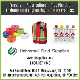 Universal Field Supplies Website