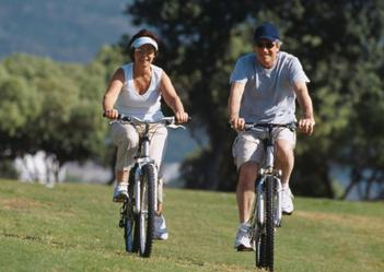 bicycling in retirement