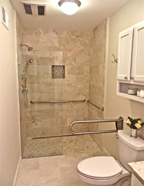 Small Bathroom Remodel Northern Virginia ada compliant bathroom | northern va & md| evergreen home renovations