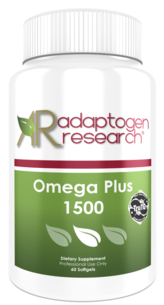Adaptogen Research, Omega Plus 1500