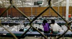 HERE ARE THE PHOTOS OF OBAMA'S ILLEGAL IMMIGRANT DETENTION FACILITIES THE MEDIA WON'T SHOW YOU donald trump children