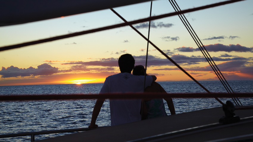 West Oahu Sunset Sail