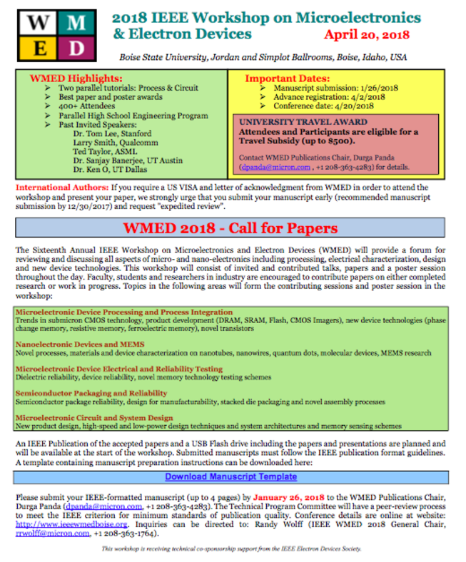 call for papers, University Of Idaho Presentation Template, Presentation templates