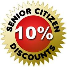 Senior Citizen 10% Discount
