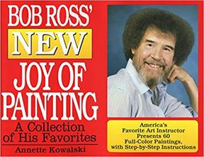 bob ross painting book