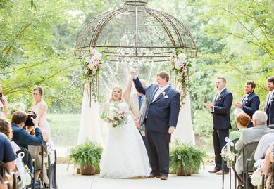 Outdoor Wedding Waterfront North Alabama