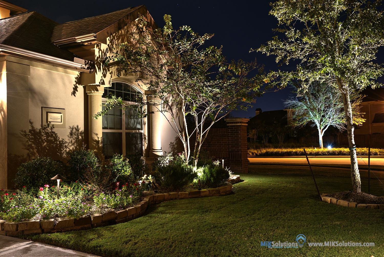Outdoor Lighting Houston - Garden Lighting