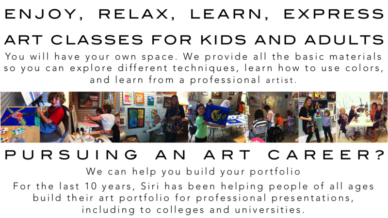 Studio Siri - Custom Framing And Art Lessons For Kids And Adults ...