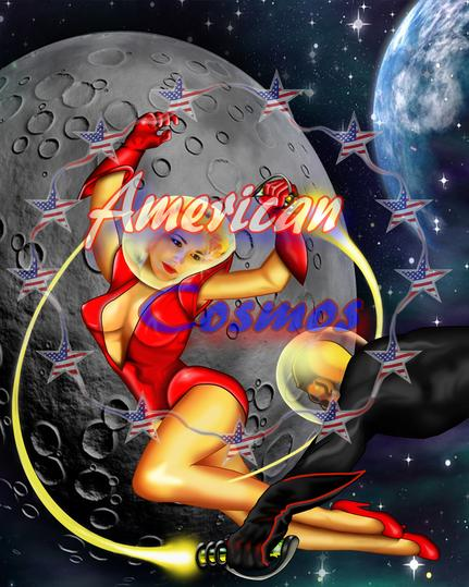 american cosmos graphic image