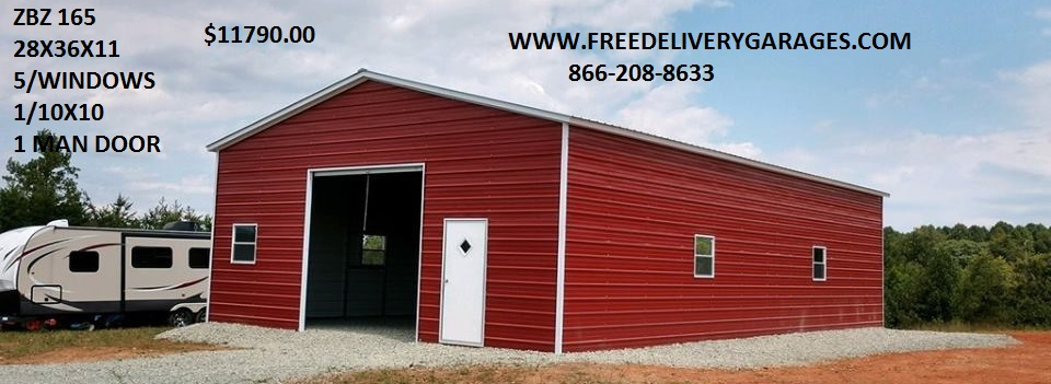 Free Delivery Garages - Steel Carports, Steel Garages, Metal Carport