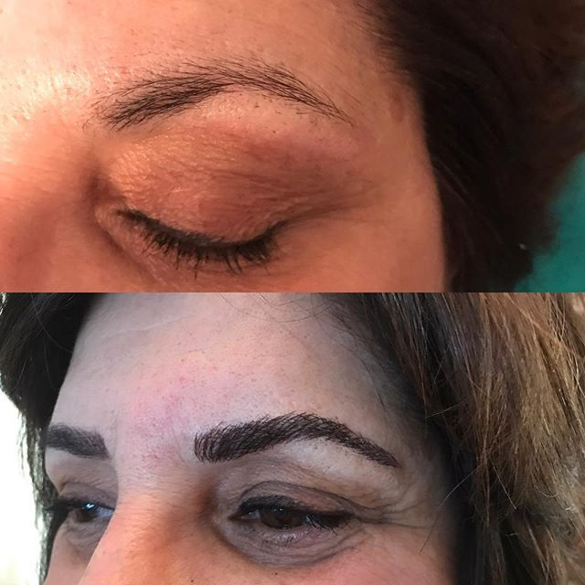 3d Eyebrows Micoblading Microneedling Royal Arches Eyebrows