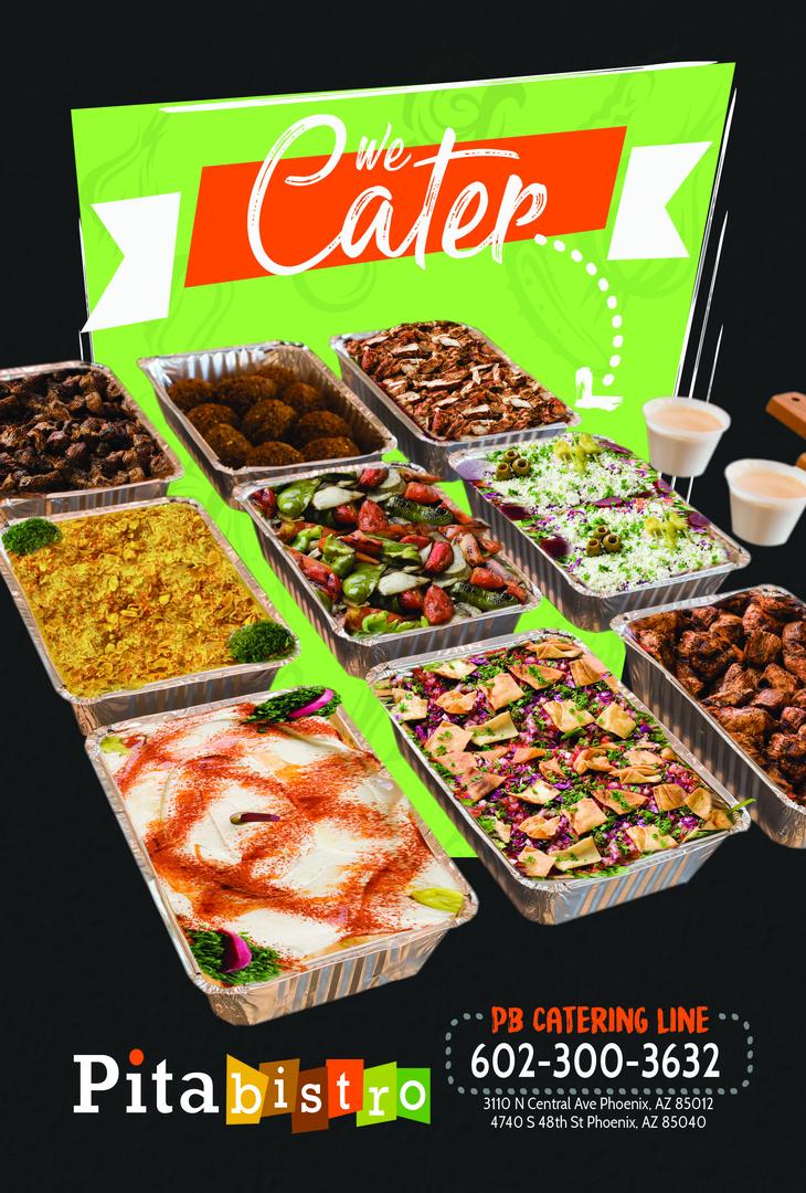 Mediterranean Catering, gyro, falafels, hummus & more - Pita Bistro