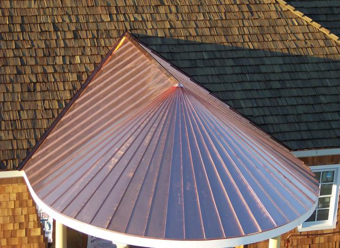 Copper roof Middle Ga