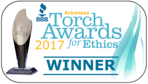 Mister Sparky Little Rock 2017 BBB Torch Award Winner