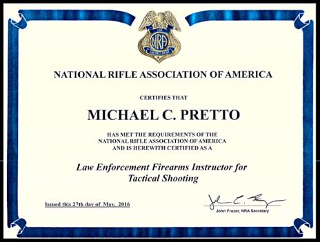 Firearms Classes