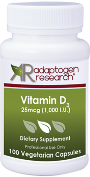 Adaptogen Research, Vitamin D3 5000 Vegetarian Capsules