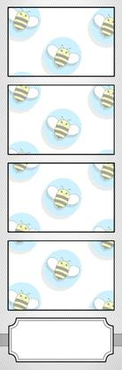 Bumblebee Booths Photo Strip sample #13