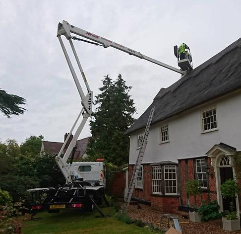 Nifty 120T access platform for hire from Colchester Cherry Picker Hire, Essex